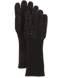 Rag & Bone | Catherine Speckle Knit Cashmere Gloves | Lyst
