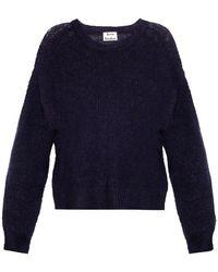Acne Studios Bernike Open-Weave Sweater - Lyst