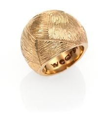 Kelly Wearstler Textured Dome Ring - Lyst