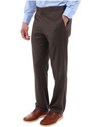 Perry Ellis Textured Stripe Dress Pant - Lyst