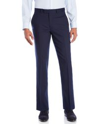 Kenneth Cole - Wool-Blend Suit Pants - Lyst