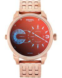 DIESEL - Dz7336 Rose Gold-tone Watch - Lyst