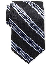 Ted Baker - Silk Parque Striped Tie - Lyst