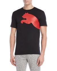 afa7cacbac8e Lyst - PUMA Retro Sports T-shirt in Black for Men