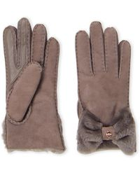 UGG - Bow Shorty Tech Gloves - Lyst