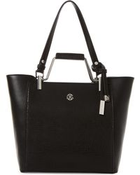 CXL by Christian Lacroix - Violette Metal Handle Tote - Lyst