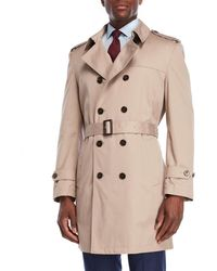Lauren by Ralph Lauren - Lowry Belted Double-breasted Trench - Lyst