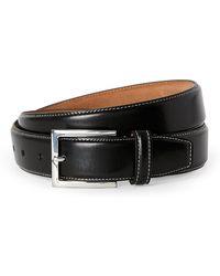 Cole Haan - Contrast Stitch Belt - Lyst