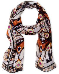 Givenchy - Butterfly Print Silk Scarf - Lyst