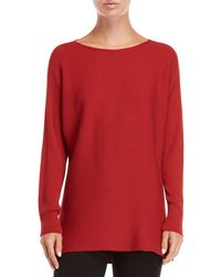 Lafayette 148 New York - Ribbed Dolman Sweater - Lyst