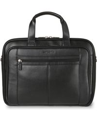 Samsonite - Black Leather Business Case - Lyst
