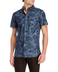 Superdry - Printed Short Sleeve Button-down - Lyst