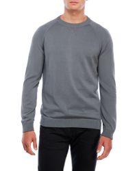 Benson - Crew Neck Raglan Sweatshirt - Lyst