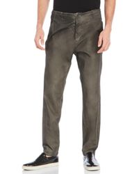 Transit Uomo - Relaxed Cotton Pants - Lyst