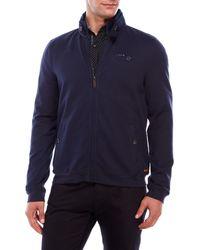 Color Siete - Zip-Up Mock Neck Jacket - Lyst