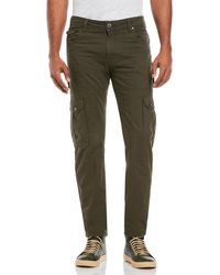 Tokyo Laundry - Cotton Twill Cargo Pants - Lyst
