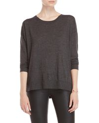 Forte - Relaxed Three-quarter Sleeve Cashmere Sweater - Lyst