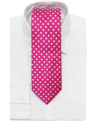 Beau Brummel Soho - 100% Silk Polka Dot Tie - Lyst