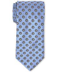Guy Laroche - Light Blue Neat Silk Tie - Lyst