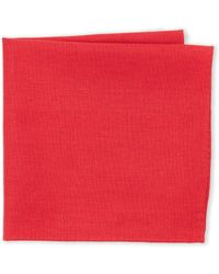 Burma Bibas - Solid Pocket Square - Lyst