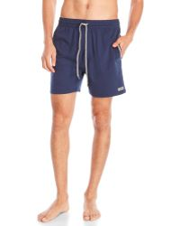 Kenneth Cole Reaction - Jersey Knit Shorts - Lyst