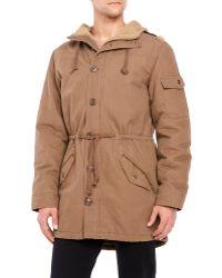 Weatherproof - Faux Sherpa Lined Hooded Jacket - Lyst
