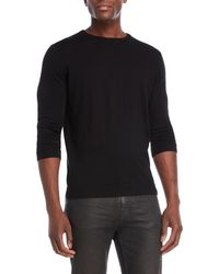 Forte - Worsted Crew Neck Cashmere Sweater - Lyst