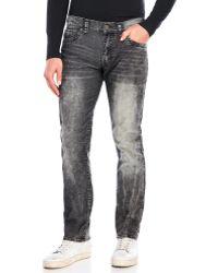 Xray Jeans - Stretch Corduroy Wash Jeans - Lyst