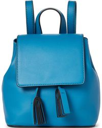 French Connection - Caribbean Blue Mini Vale Backpack - Lyst