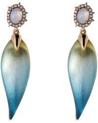 Alexis Bittar - Crystal-accented Petal Drop Earrings - Lyst