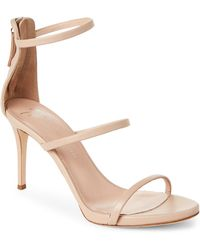 Giuseppe Zanotti - Beige Alien Leather Sandals - Lyst