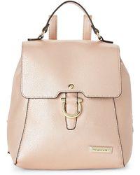 Tahari - Rose Gold Glamper Backpack - Lyst
