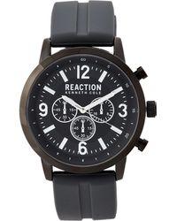 9d75bbdecbd Lyst - Kenneth Cole 10019450 Gunmetal   Black Watch in Metallic for Men