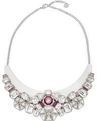 Swarovski - Diana Bib Necklace - Lyst