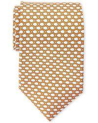 Battistoni - Silk Something Fishy Tie - Lyst