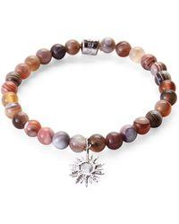 Anzie - Sterling Silver & Agate Bracelet - Lyst