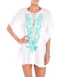 Spiaggia Dolce | Embroidered Cover-Up | Lyst