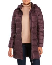 Weatherproof - Packable Ultra Light Down Long Jacket - Lyst