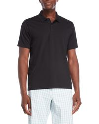 Perry Ellis - Short Sleeve Solid Tone Polo - Lyst