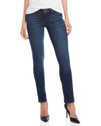 PAIGE - Skyline Mid-rise Skinny Jeans - Lyst