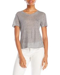 Slate & Stone - Striped Short Sleeve Crew Neck Tee - Lyst