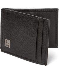 Nautica - Black Hampton Flap Credit Card Holder - Lyst