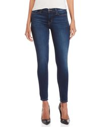 Flying Monkey - Mid-rise Ankle Skinny Jeans - Lyst