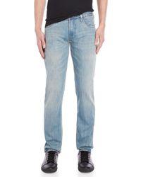 Armani Jeans - Light Wash J06 Slim Fit Jeans - Lyst