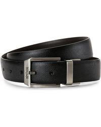 Kenneth Cole Reaction - Faux Leather Belt - Lyst
