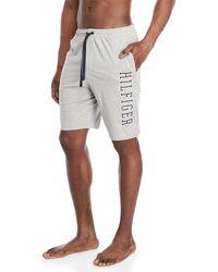 Tommy Hilfiger - Logo Knit Pajama Shorts - Lyst
