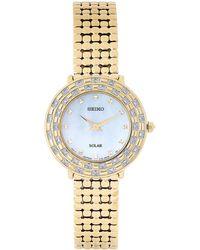 Seiko - Sup374 Gold-tone Watch - Lyst