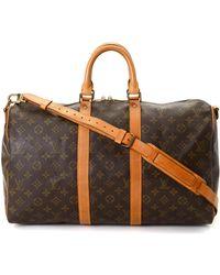 Louis Vuitton - Keepall 45 Bandoulie Monogram Travel Bag - Vintage - Lyst