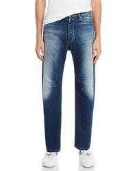 Armani Jeans - Low-rise Tapered Jeans - Lyst