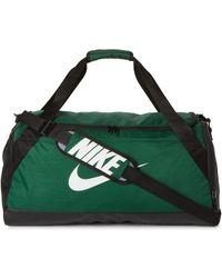 Nike - Green & Black Brasilia Medium Duffel - Lyst